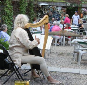 La harpiste, Marie-Christine Gabillet
