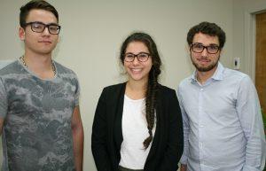 L'équipe d'étudiants de l'Université de Sherbrooke, réalisera une étude de lectorat pour le journal Le HauT-Saint-François.
